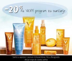 vichy program za suncanje