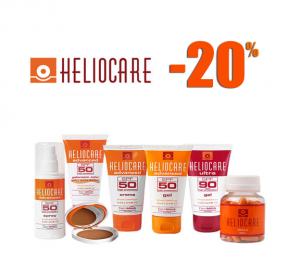 heliocare popust 20% na preparate za suncanje
