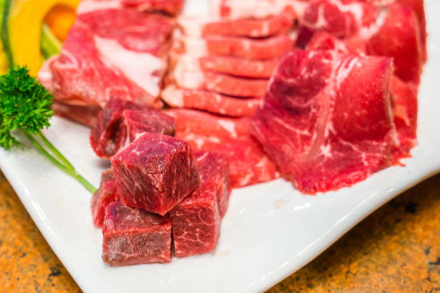 crveno meso gvožđe