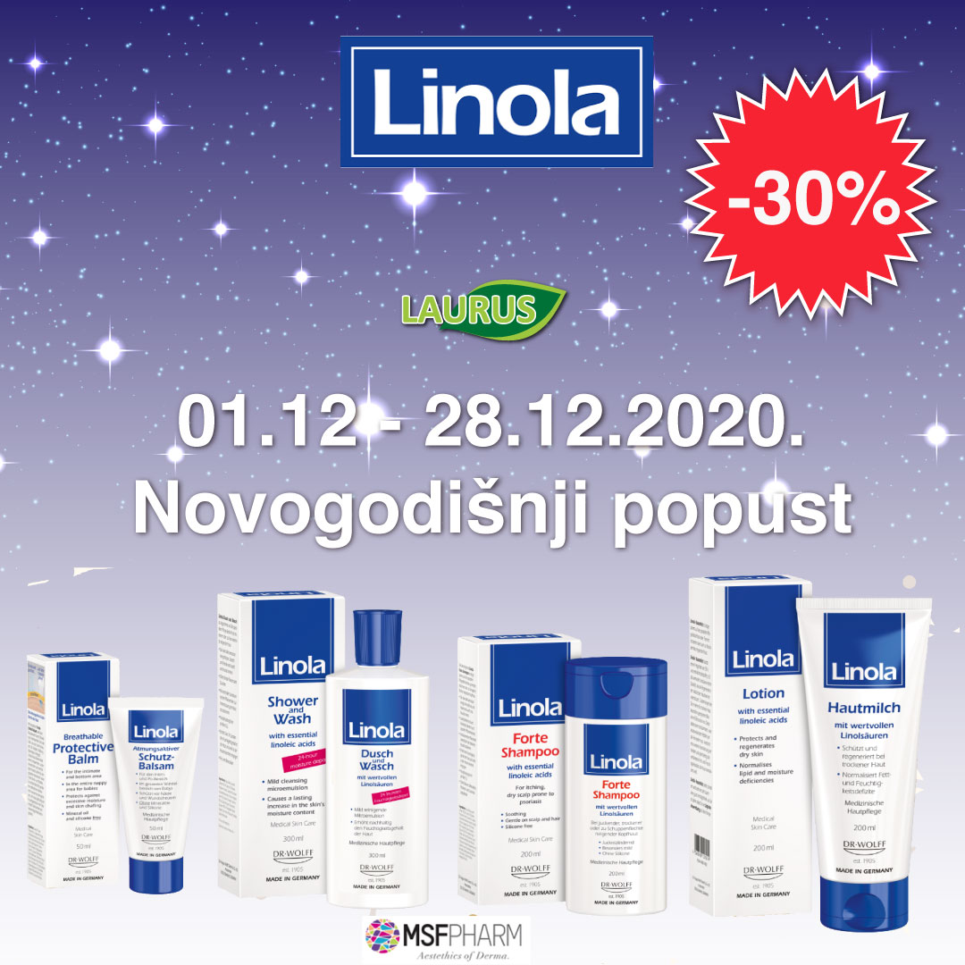 linola novogodišnji popusti